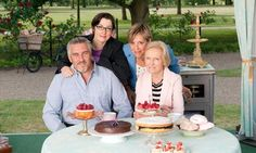 The Great British Bake Off. Thank goodness watching doesn't make you fat!
