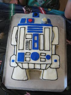 Tarta de R2-D2 (Star Wars)