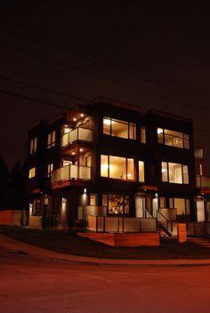 Karoleena homes on pinterest modern prefab homes for Prefab fourplex