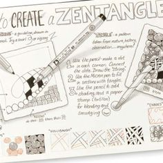Zentangle how-to.