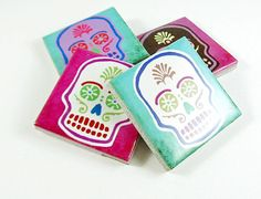 Day of the Dead magnet Mexican party favor