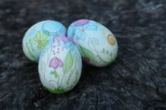 diy decoupage easter eggs tutorial