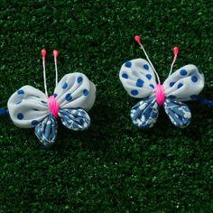 Yo Yo butterfly Tutorial - clippie pattern - ebook beginner pdf ebook - DIY via Etsy
