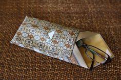 neck tie eyeglass case