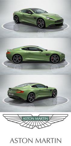 Aston Martin V12 Vanquish. The Ultimate Grand Tourer  #AstonMartin