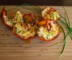 Grilled lobster with miso butter