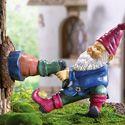 Gnome Stuck in Tree