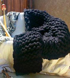 Gigantic Organic Knit Blanket  by I AM...giganticknits on Scoutmob Shoppe