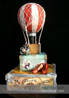 Steampunk Wizard of Oz Cake