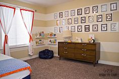 Stripey Boy Room