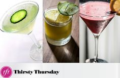 Healthy Cocktails!