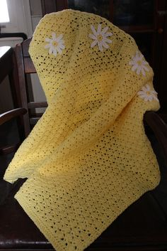 Thursday's handmade love week 51 Daisy Theme Link to crochet pattern