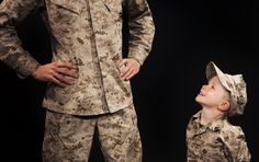 Happy Father's Day. Don't forget to thank the heroes you look up to. Semper Fidelis, Marine dads and fathers of Marines. (U.S. Marine Corps photo by Cpl. Daniel Wetzel/Released)