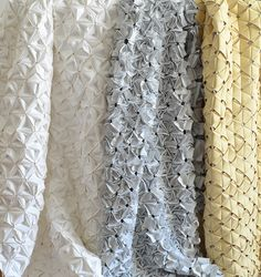 Textile Trend  Cut ~ Fold ~ Pleat   via design-confidential.com