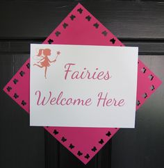 Fairy Party birthday parti, fairies, fairi parti, fairi garden, welcome signs, fairi birthday, gardens, garden parties, parti idea