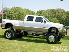 Lifted Ford Truck..