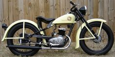 Beautiful 1957 Harley Davidson Hummer. Only 1350 produced.