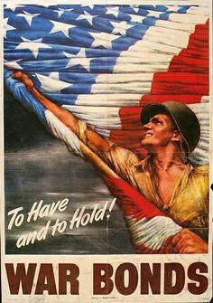 US WW2 poster