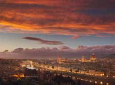 Sunset over Florence, Italy pic.twitter.com/71EHB1Qf0W