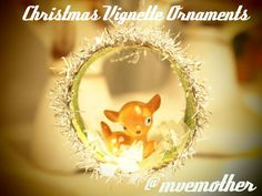 #NUO2012 Christmas Vignette Ornaments @mvemother
