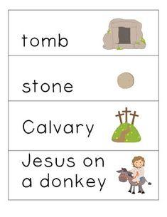RELIGIOUS EASTER PRINTABLES - TeachersPayTeachers.com