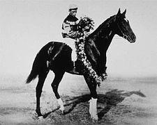 Donau | Winner of the 36th Kentucky Derby | 1910 | Jockey: F. Herbert | 7-Horse Field | $4,850 prize