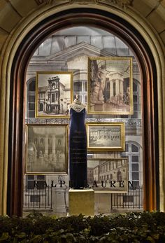 A special Beaux-Arts feature in our St. Germain store windows to honor Ralph Lauren's patron sponsorship of the famed art school