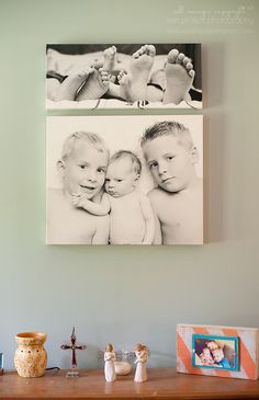 Decorating Walls with Photographs Wall Art Wednesday Feature Laura Winslow @Laura Winslow