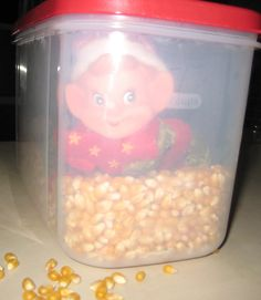 Playing In Popcorn