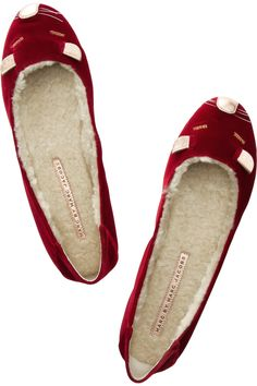 Marc by Marc Jacobs Velvet Mouse Slippers.  So cute & cozy!