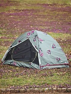 @Alite Designs, x @Free People = lovely tent for #camping! #spring #summer #floral #festival #coachella #freepeople #getoutside #campout #collab #design