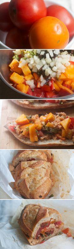 Patafla: The Best Tomato Sandwich You've Never Heard Of