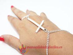 Como hacer un anillo-pulsera o anillo Árabe