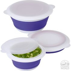 Collapsible Prep Bowl Set - Progressive International Corp CB-6 - Kitchen Tools - Camping World