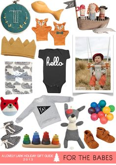 A Lovely Lark: Holiday Gift Guide 2013: For the Babes