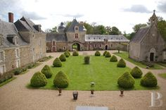 Haut Anjou, château des 15ème, 16ème et 17ème