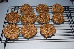 Healthy breakfast cookies - or great breastfeeding snacks!