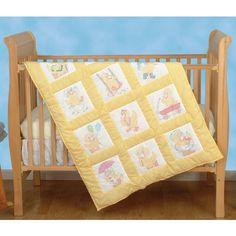 DIY -Baby Ducks Nursery Quilt Squares