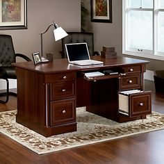 | Traditional Home Offices, Home Office Furniture and Writing Desk