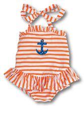 bath suit, anchors, little girls, swimsuit, kelli kid, babi, ador, kellys kids, sailor