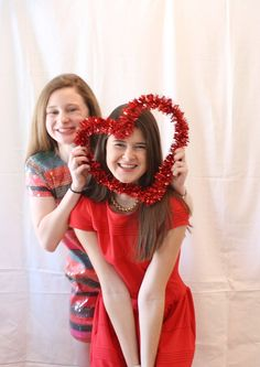 Make your own Valentine Photo Booth fun!