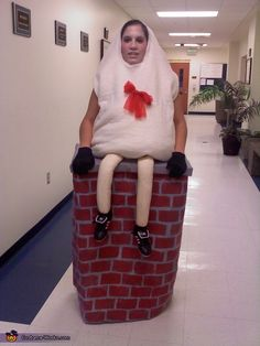 Humpty Dumpty - Homemade costumes for adults