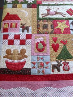 Everything christmas quilt