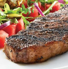 Don't just brew coffee, rub steaks with it too! Combined with sugar and garlic powder, coffee lends a deep richness to this Coffee-Rubbed Kansas City Strip Steak recipe.