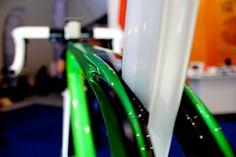 Caterham Duo Cali, Eurobike 2014, seat-stays, pic: Timothy John, ©Factory Media