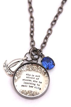 Learning to Sail her Ship - $40.00 : Beth Quinn Designs , Romantic Inspirational Jewelry