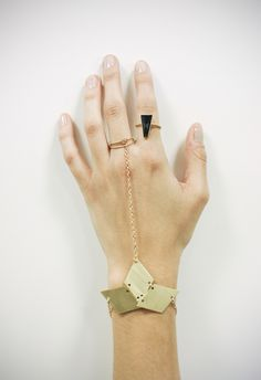 geo shapes in jewelry- love