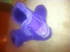 Purple uggs...
