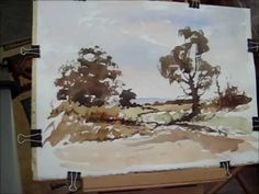 ▶ How to paint a loose watercolour with Alan Owen - YouTube