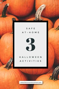 With Halloween right around the corner, parents may be looking for safe, at-home Halloween activities for their kids to do. Luckily, there are plenty of fun and traditional options for the entire family to participate in. #halloween #halloweenactivities #athomehalloweenactivites